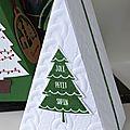 Faire un <b>sapin</b> de Noël avec les Thinlits