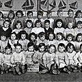 GLAGEON - L'<b>Ecole</b> <b>maternelle</b> 1950-1951