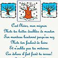 Comptines chansons hiver