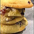 Cookies d'<b>été</b> [aux raisins secs]