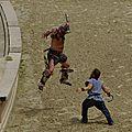 Combat de gladiateurs ( <b>Puy</b> du <b>fou</b> )