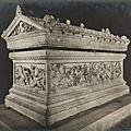 Mon top 10 <b>sculptures</b> antiques dans les musées: N°7: le sarcophage d'Alexandre (Musée archéologique d'Istanbul)