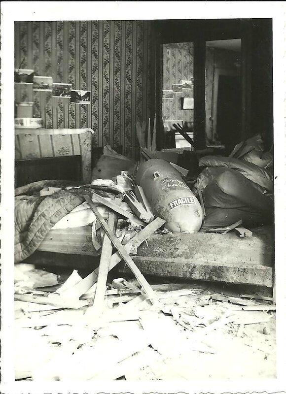 bombardement juillet 43 r perrin bombe 43 av Carnot non eclatee 001 -2-