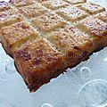 Gâteau de pommes de terre aux <b>oignons</b>