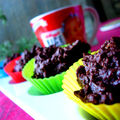 Petits brownies <b>sans</b> gluten et <b>sans</b> <b>casine</b> aux noisettes grilles.