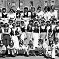 TRELON - Fête des <b>Ecoles</b> en 1956