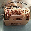 Biscuits ax flocons d'avoine, avec ou sans chocolat, comme chez <b>IKEA</b> ( CHOKLADFARN )!!