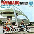 Les motos des années 60 / <b>Yamaha</b>