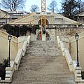 L'escalier monumental d'Auch dans le Gers