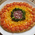 ...Pizza arc en ciel...