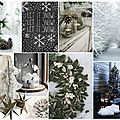 Moodboard // Inspiration #1 : A White Christmas