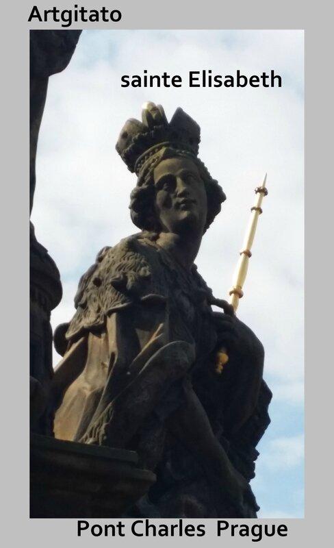 Saintes Barbe Marguerite Élisabeth Pont Charles Artgitato Prague 3