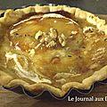 Tartelette Rocamadour au miel