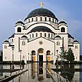 <b>CATHEDRALE</b> SAINT-SAVA - BELGRADE (Serbie)