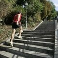 Les escaliers pour <b>entranement</b> (article pris sur jogging international)