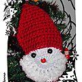 25 décembre: Père Noël au crochet