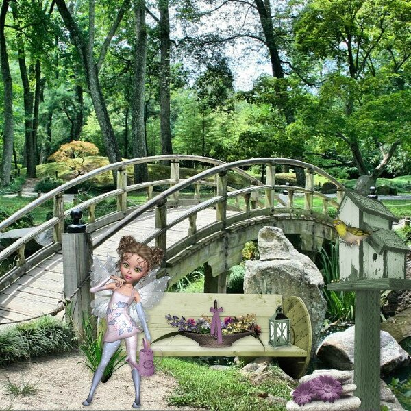 Flomelle - fairy's world - page de Jade