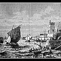 LES <b>SABLES</b>-<b>D</b>'<b>OLONNE</b> (85) - 1796 - OURAGAN SUR LES <b>SABLES</b> - BASILE NICOLLON / 1770 - SA MÈRE ENTERRÉE VIVANTE
