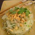 """Salade de Pomelos épicée comme à Bangkok, Spicy """"Honey Pomelos » salad just like in Bangkok"""