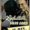 L'infaillible Silas <b>Lord</b>