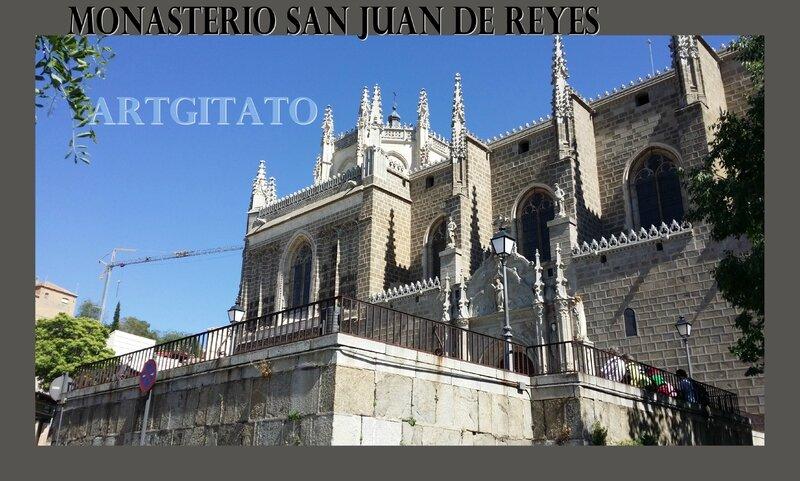Monasterio SAN JUAN DE REYES Toledo Tolede Artgitato 1 Bestiaire