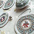 TUTO Boules ou Galettes de Noël à faire soi-même