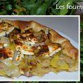 <b>Tarte</b> aux <b>poireaux</b>, lardons & feta