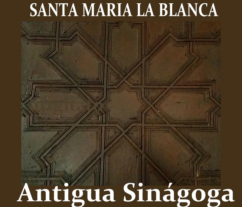 Toledo Santa Maria la Blanca Antigua Sinagoga Synagogue Antique Artgitato33