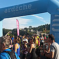 <b>Ardèche</b> Run, 24 septembre 2017