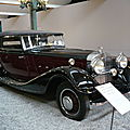 HORCH type 670 <b>cabriolet</b> 1932