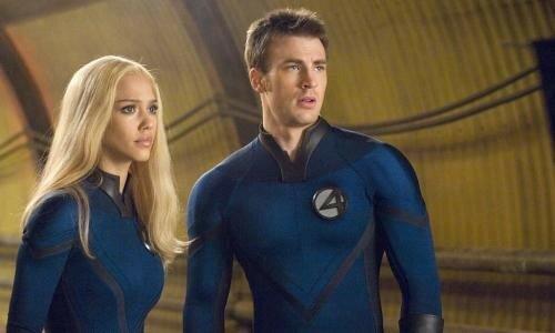 Jessica Alba & Chris Evans dans Les 4 Fantastiques 2
