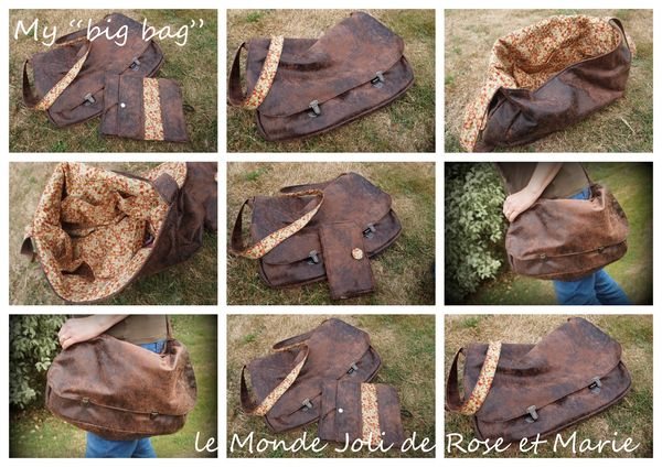 My big bag - Le Monde joli de Rose et Marie