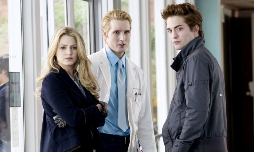 Nikki Reed, Peter Facinelli & Robert Pattinson