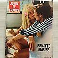 Jour de France 1974, Mariage Brigitte Bardot-14 juillet De <b>Gaulle</b>