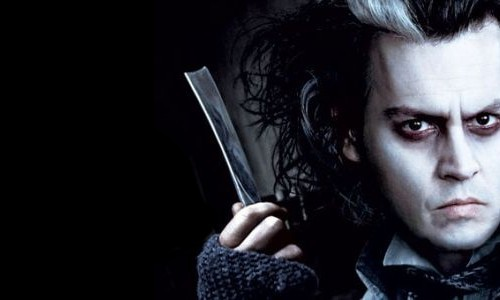 Johnny Depp est Sweeney Todd