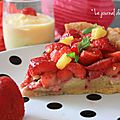 ▼▲▼ Yummy Time : Tarte Amandine aux Fraises et Lemon Curd Jars ▼▲▼ Birthday Cook ♥