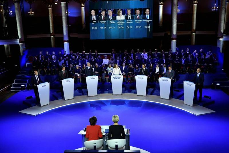 Primaires droite deuxieme debat