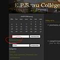 l'EPS au Collège de Crussol