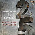 DREAM THEATER - Concert Exceptionnel Le 12 Fevrier 2017 @ <b>Zenith</b> (Paris) - Imagine, Words & Beyond 25th Anniversary Tour