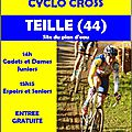 2 Novembre Cyclo-cross Teillé