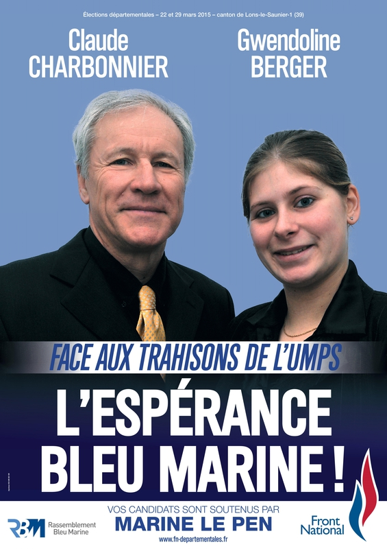 Lons 1 Claude Charbonnier et Gwendoline Berger