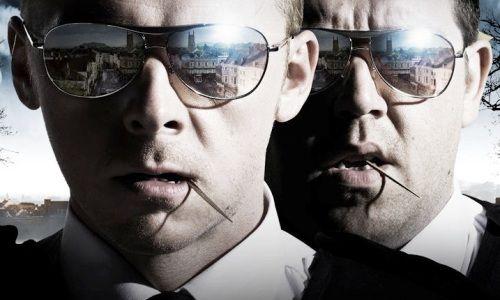 Simon Pegg et Nick Frost, flics de choc dans Hot Fuzz