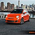 Louez votre Fiat <b>500</b> automatique à casablanca