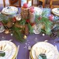 <b>Décoration</b> de ma table de Noël
