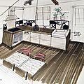 Aménagement d'une petite maison de ville - Chartrettes (77)