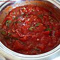 <b>Sauce</b> <b>tomate</b> (à l'italienne)