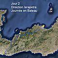 Tour de Crète, Jour après Jour : 2) Ierapetra - Sortie bateau sur le Nefeli de Kosta