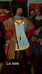 Saie d' Anne de Montmorency vers 1530