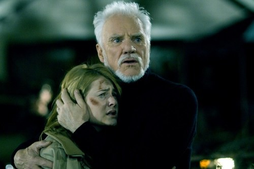 Scout Taylor Compton & Malcom McDowell