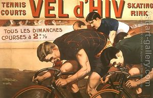 Races-Every-Sunday,-Poster-Advertising-The-$27vel-D$27hiv$27-$28velodrome-D$27hiver$29,-1910